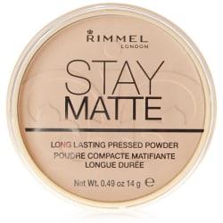 Rimmel Stay Matte Pressed Powder 001 Transparent 14g Beige