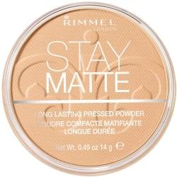 Rimmel Stay Matte Pressed Powder 006 Warm Beige 14g Transparent