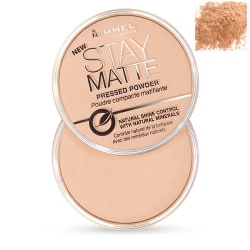 Rimmel Stay Matte Pressed Powder 007 Mohair 14g Transparent