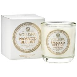Voluspa Classic Maison Boxed Votive Candle Prosecco Bellini 85g White