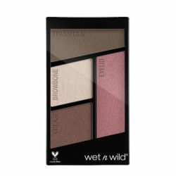 Wet n Wild Color Icon Eyeshadow Quads Sweet As Candy Transparent
