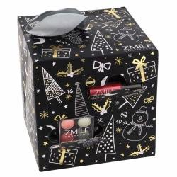 Zmile Cosmetics Advent Calendar Cube Black Black