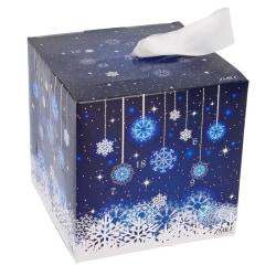 Zmile Cosmetics Advent Calendar Cube Snow Flake Blue Blue