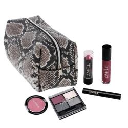 Zmile Cosmetics Beauty Bag Snake Look Grey