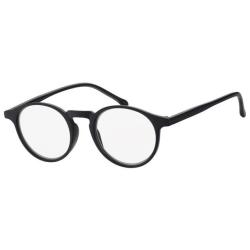 Coloray läsglasögon Caserta Svart, +1.00 - + 3.00 svart +2.00