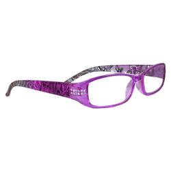 ColorAy Läsglasögon Naxos, Lila +1.00-3.50 lila +3.50