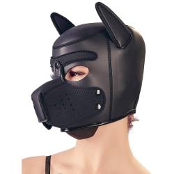 Bad Kitty: Dog Face Mask Svart