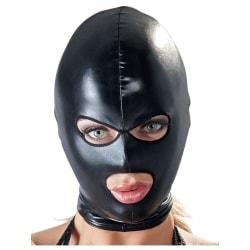 Bad Kitty: Head Mask, Eyes & Mouth Svart