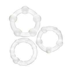 Belladot Viktor: Penisringar, 3-pack Transparent