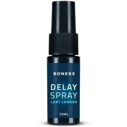 Boners: Delay Spray, Last Longer, 15 ml