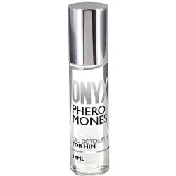 Cobeco: Onyx, Pheromones, Eau de Toilette for Him, 14 ml Transparent