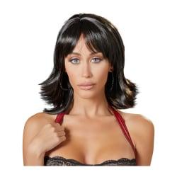 Cottelli Collection: Choppy Black Wig Svart