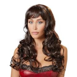 Cottelli Collection: Long Dark Brown Wig Brun