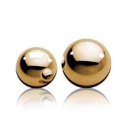 Pipedream Fetish Fantasy: Ben-Wa Balls, gold Guld
