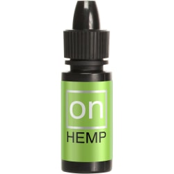 Sensuva: On Hemp, Female Arousal Oil,  5 ml Transparent