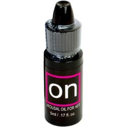 Sensuva: On, Natural Arousal Oil for Her, 5ml Transparent
