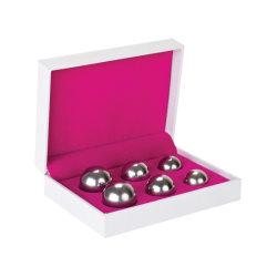 Shots Toys: Ben Wa Balls, 3 Different Weights, silver Silver
