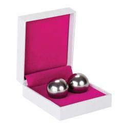 Shots Toys: Ben Wa Balls, Heavy Weight, silver Silver
