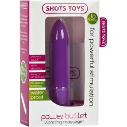 Shots Toys: Power Bullet, lila Lila