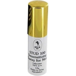 Stud 100: Male Genital Desensitizer, 12 ml Transparent
