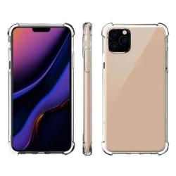 Iphone 12/12 Pro Skal förstärkta hörn Transparent
