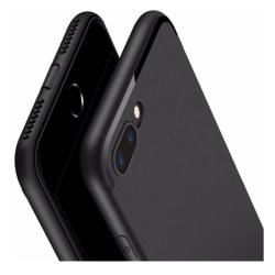 Iphone SE (2020) / 8 / 7 Mattsvart Skal Svart