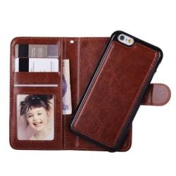 Iphone X / Xs plånbok fodral Magnet Skal Brun