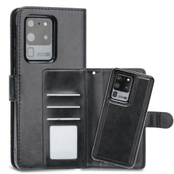 Samsung Galaxy S20 Fodral Plånbok Magnetskal Svart Svart
