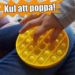 Pop It | Fidget leksak | Fidget Toy | Klickande pop