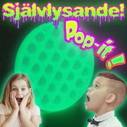 Pop-it | Glow in the dark | Självlysande | Nyhet 2021