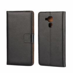 iCoverCase | Huawei Honor 7 Lite | Plånboksfodral  Svart
