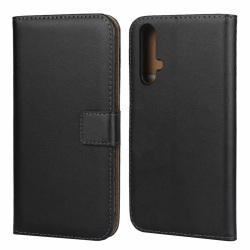 iCoverCase | Huawei Nova 5T | Plånboksfodral Black