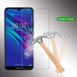 iCoverCase | Huawei Y6 2019 | Skärmskydd | Härdat Glas Transparent