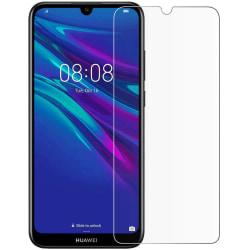 iCoverCase | Huawei Y7 2019 | Skärmskydd  Transparent