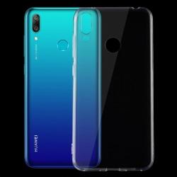 iCoverCase | Huawei Y7 2019 | Transparent Skal  Transparent
