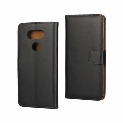 iCoverCase | LG G5 | Plånboksfodral  Svart