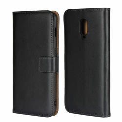 iCoverCase | OnePlus 6T | Plånboksfodral |  Black
