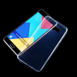 iCoverCase | Samsung Galaxy A5 2016 |  Transparent TPU Skal  Transparent