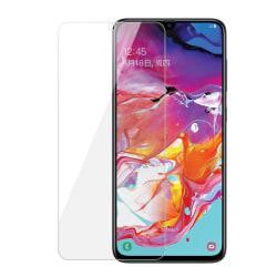iCoverCase | Samsung Galaxy A70 | Skärmskydd  Härdat Glas Transparent