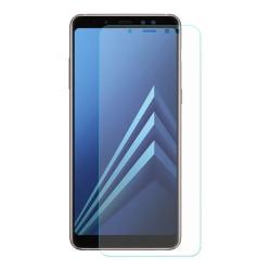 iCoverCase   Samsung Galaxy A8 2018   2- Pack Skärmskydd  Transparent