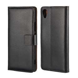 iCoverCase | Sony Xperia XA1 | Plånboksfodral  Black