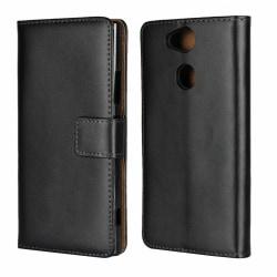 iCoverCase | Sony Xperia XA2 | Plånboksfodral |  Black