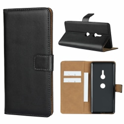 iCoverCase | Sony Xperia XZ3 | Plånboksfodral |  Black