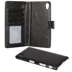 iCoverCase Sweden | Sony Xperia Z5 | Magnetiskt Fodral & Skal Svart