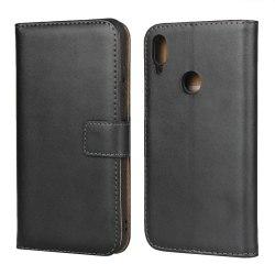 iCoverCase   Huawei Y6 2019   Plånboksfodral  Black