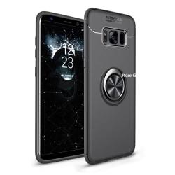 Samsung Galaxy S8 Ring Holder Skal Svart
