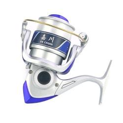 12 Kullager 5,5: 1 Fiske Spinning Reel Lightweight + Line Silver 3000