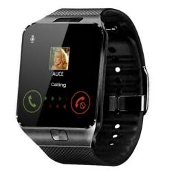 Child BT3.0 Smart Watch Sleep Monitor Pekskärm Kamera SIM Svart