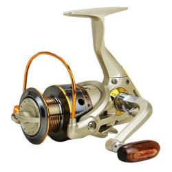 Fiske Spinning Reel Saltwater Freshwater Metal 10 + 2BB 5.1: 1 2000