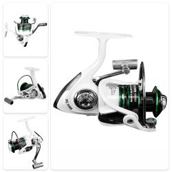 Nylon Spinning Fiskehjul 3 + 1BB Sötvattensrullar Max Drag 8kg 2000
